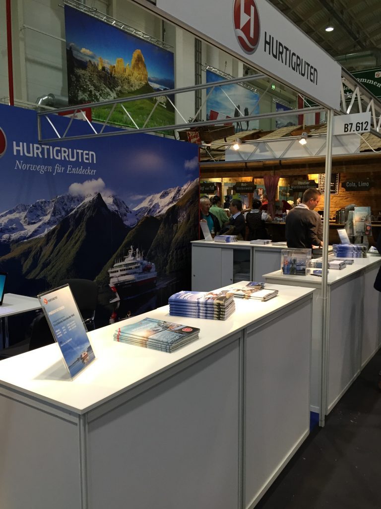 Hurtigruten Messe Reisen Hamburg 2016