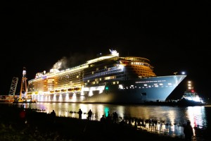 Brand auf der Freedom of the Seas