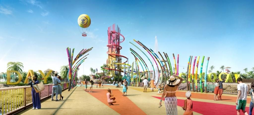 Royal Caribbean International CocoCay Rendering