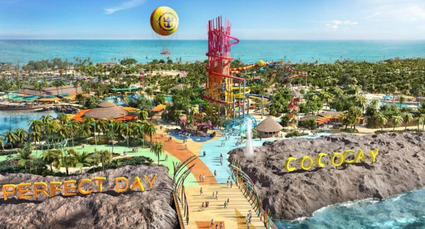 Royal Caribbean Privatinsel Coco Cay auf den Bahamas wird upgegraded