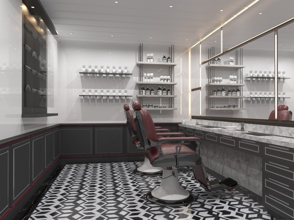 Celebrity Edge Spa Barber Shop