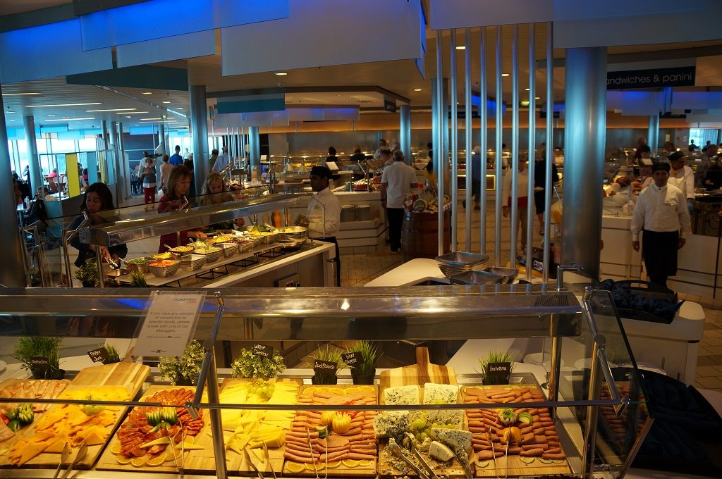 Celebrity Eclipse Buffetrestaurant Oceanview