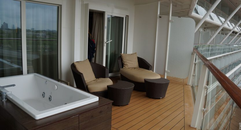 Celebrity Suiten, Penthouse Suite, Royal Suiten und Balkon Kabinen auf der Celebrity Eclipse