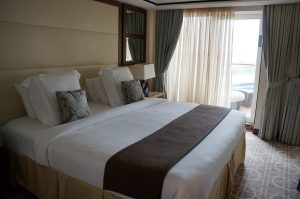 Celebrity Eclipse Penthouse Suite 1611 Schlafzimmer