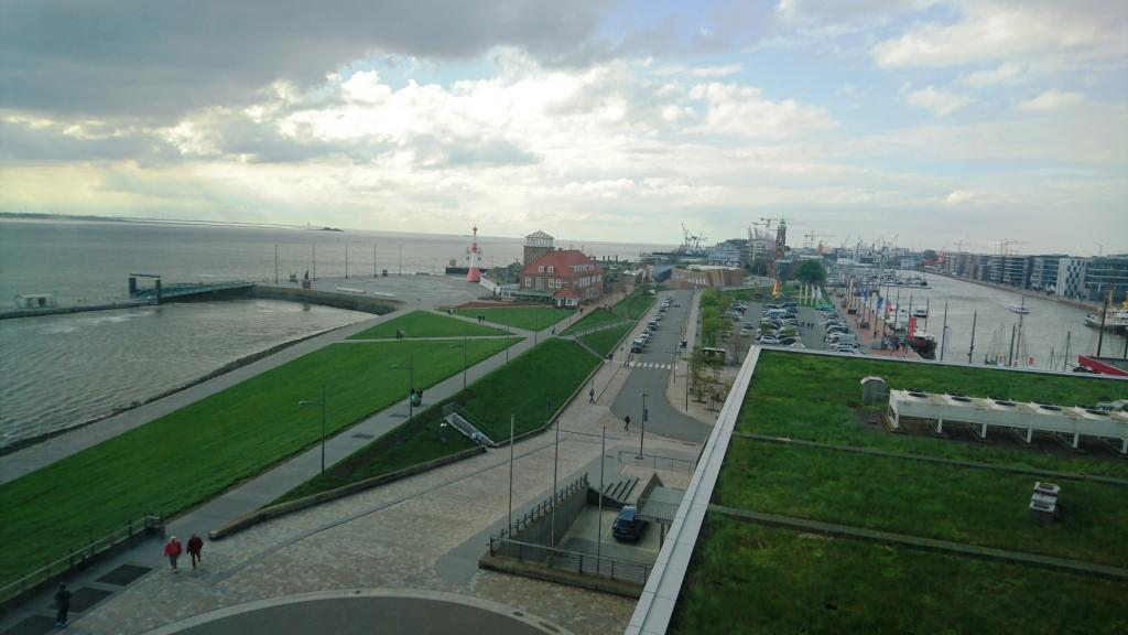 remerhaven ATLANTIC Hotel SAIL City Hotel Mega Aussicht