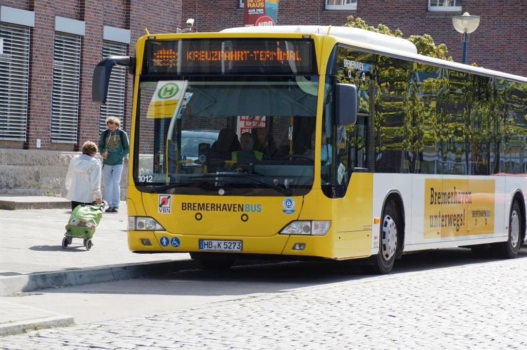 Bremerhaven Shuttle Bus zum Columbus Cruise Center