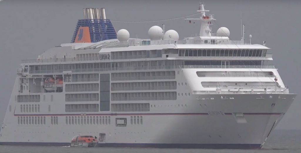 Hapag Lloyd Cruises MS Europa 2 vor List