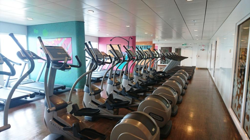 Norwegian Breakaway Fitness Bereich