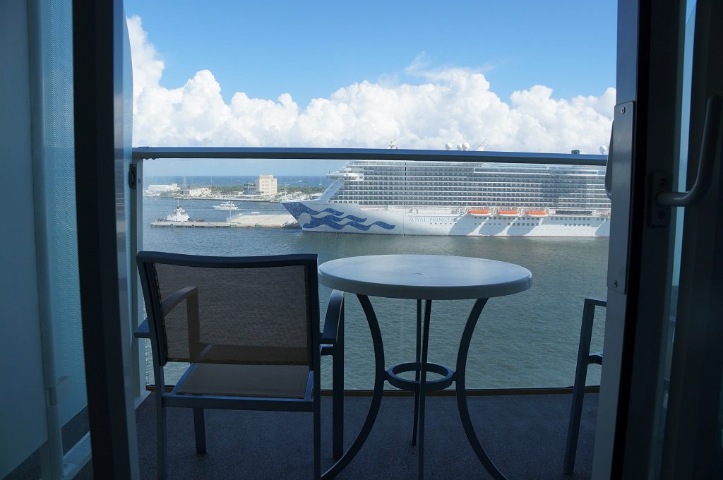 Allure of the Seas Balkonkabine 306 auf Deck 11