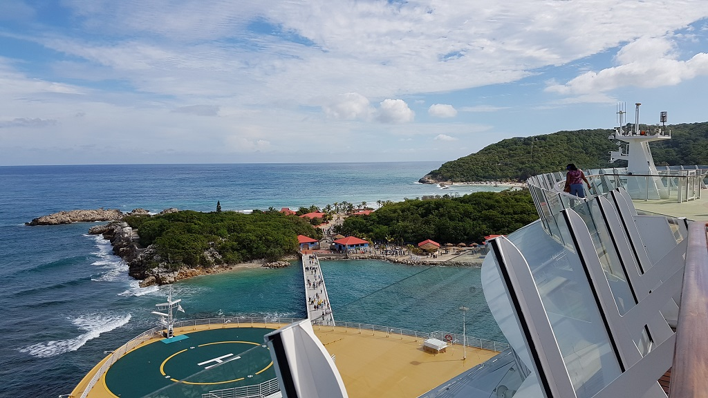 Allure of the Seas Einfahrt Labadee