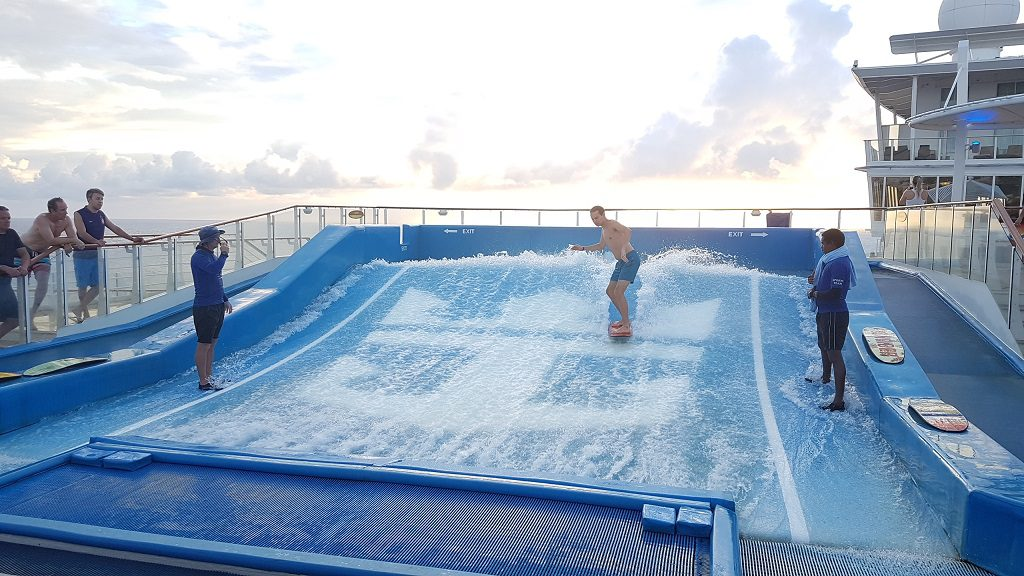 Allure of the Seas Flowrider