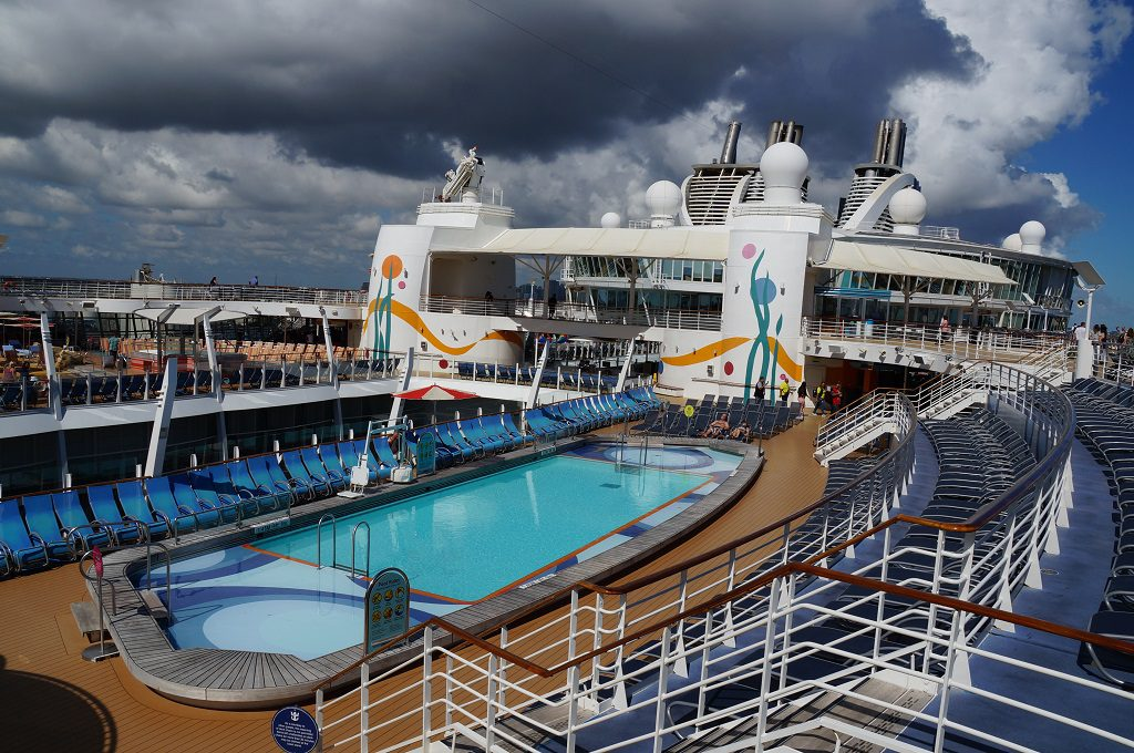 Allure of the Seas Pools