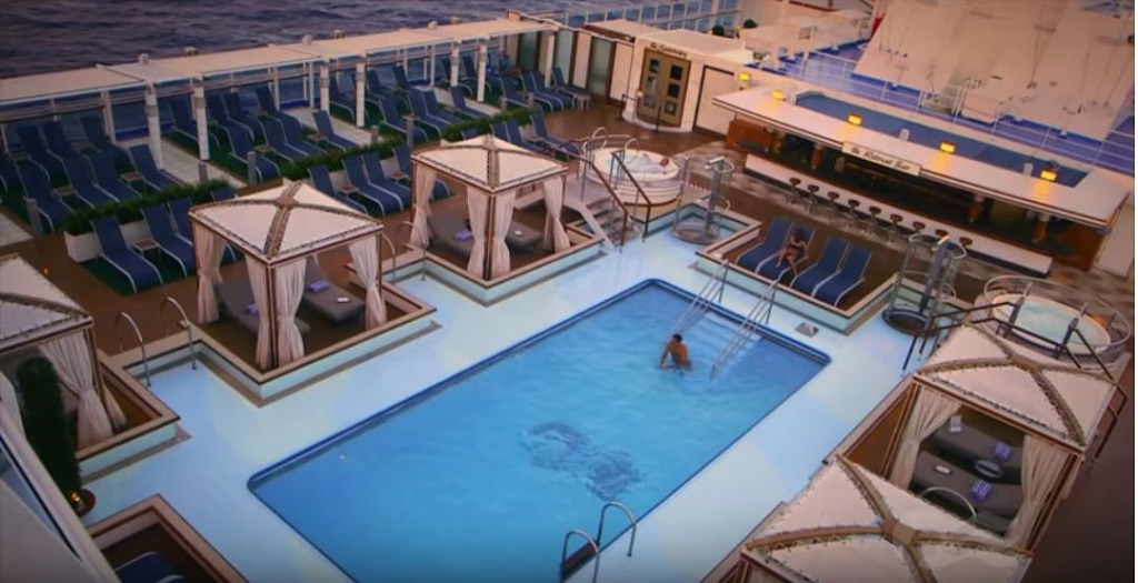 Regal Princess Retreat Pool