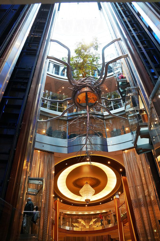 Celebrity Reflection Atrium