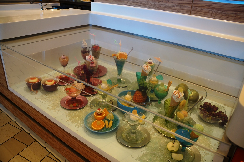 Celebrity Reflection Eis im Buffetrestaurant