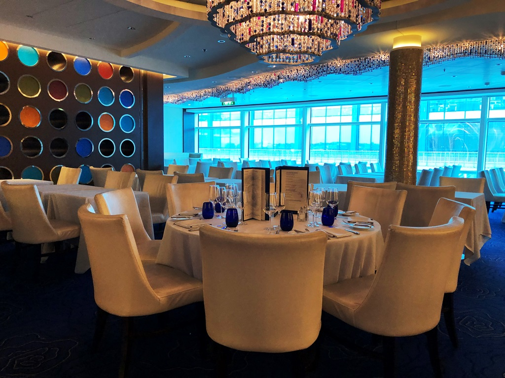 Celebrity Reflection Restaurant Blu