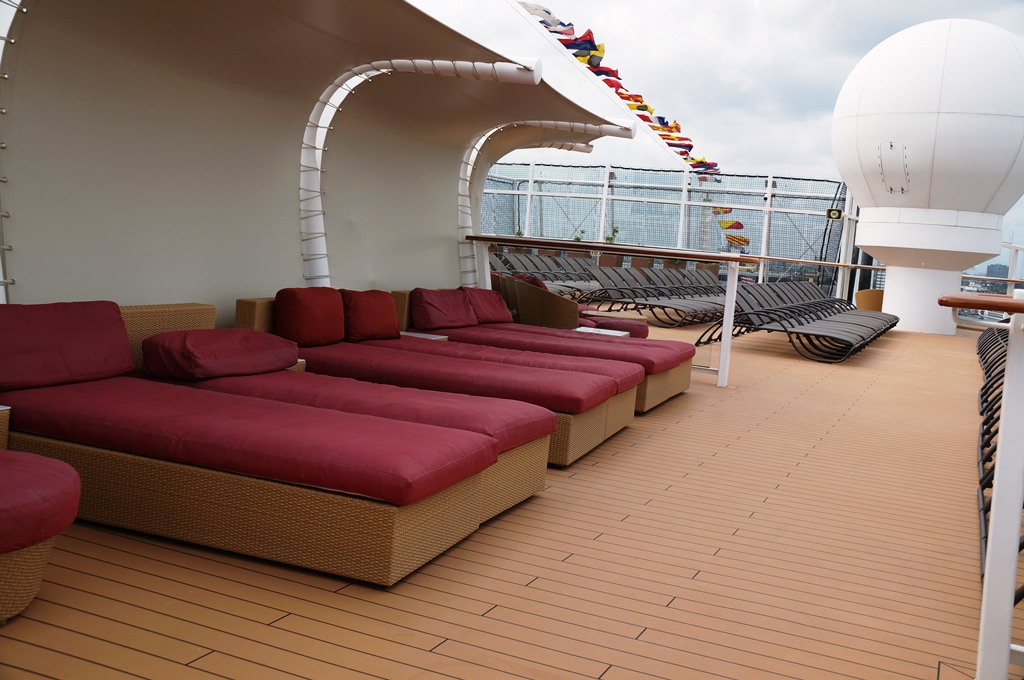 Celebrity Reflection Solstice Sonnendeck