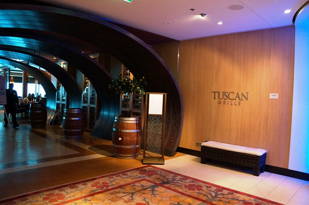 Celebrity Reflection Restaurant Tuscan