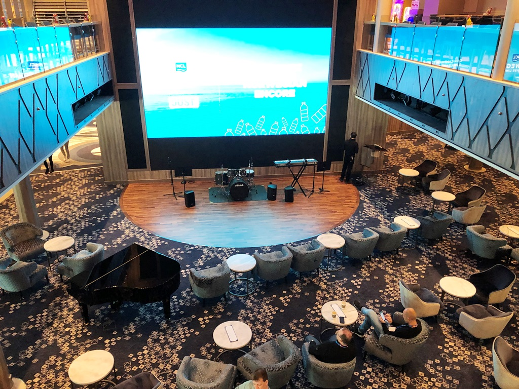 Norwegian Encore Atrium