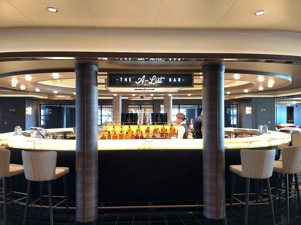 Norwegian Encore The A-List Bar