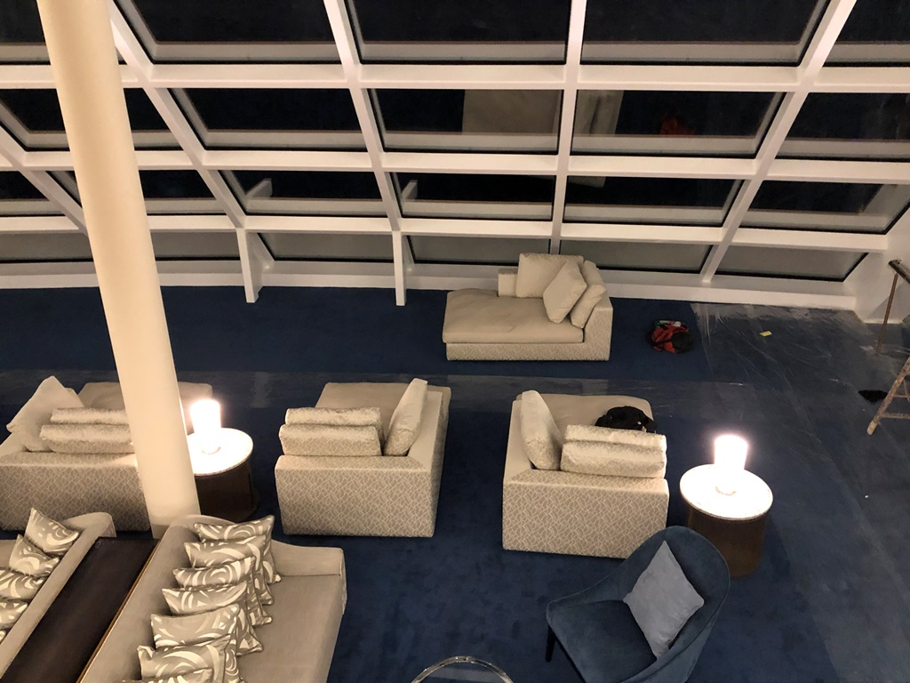 Norwegian Encore The Haven Observation Lounge