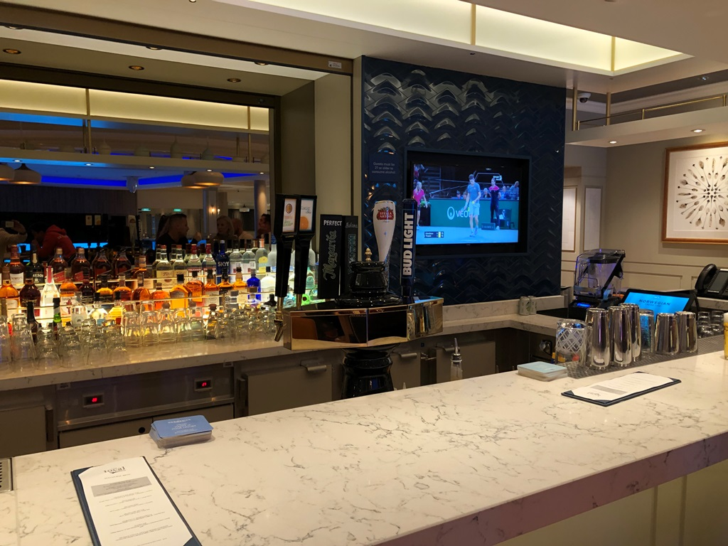 Norwegian Encore The Local Bar