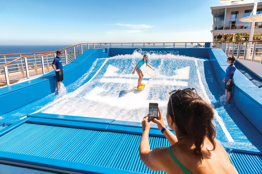 Harmony of the Seas Flow Rider
