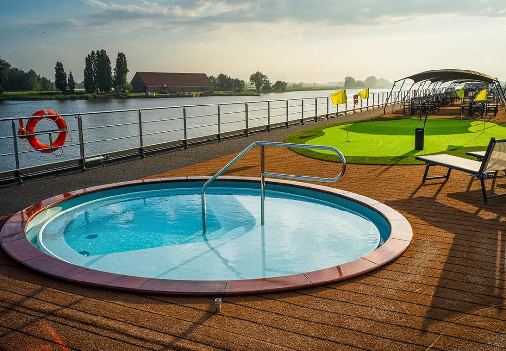 nickoVISION Pool in Aktion