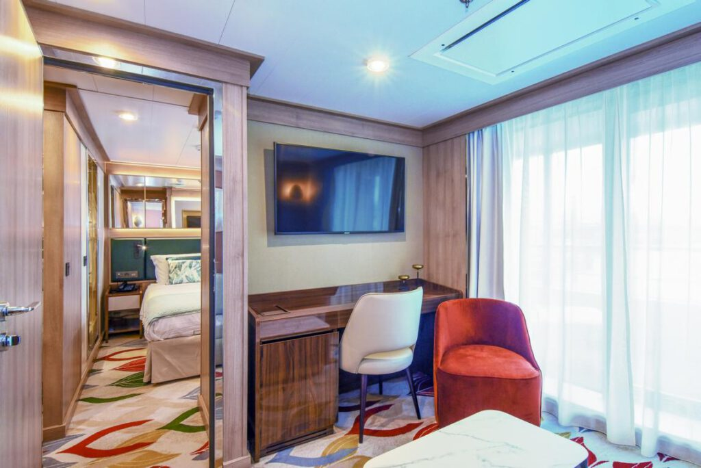 nicko cruises World Voyager VIP Suite