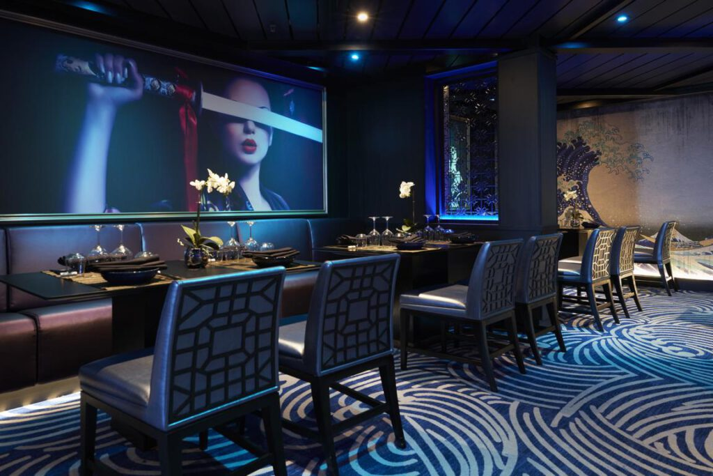nicko cruises Vasco da Gama Asiatisches Restaurant