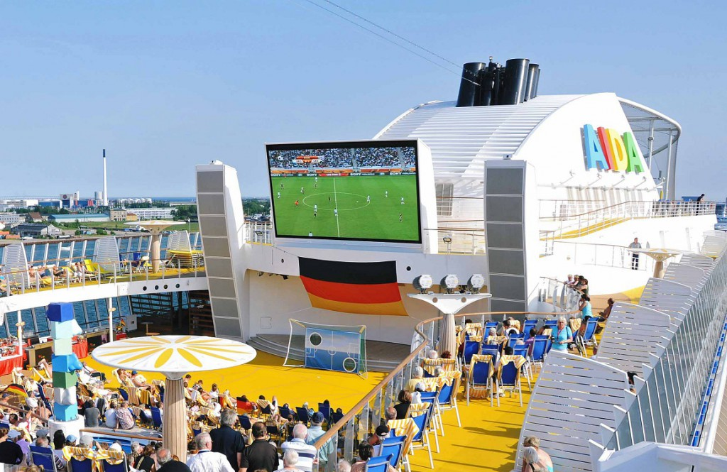 AIDA Cruises Public Viewing UEFA EM 2016