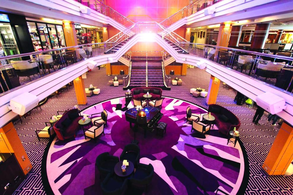 Cruise & Maritime Voyages MS Columbus Atrium - Reception Deck 5