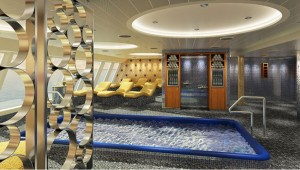 Carnival Cruise Line Carnival Horizon Cloud 9 Spa Bereich