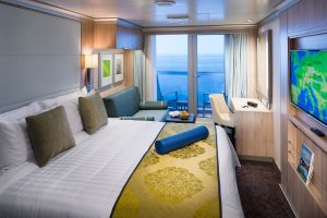 Holland America Line Verandah Spa Suite Room 10043 Koningsdam