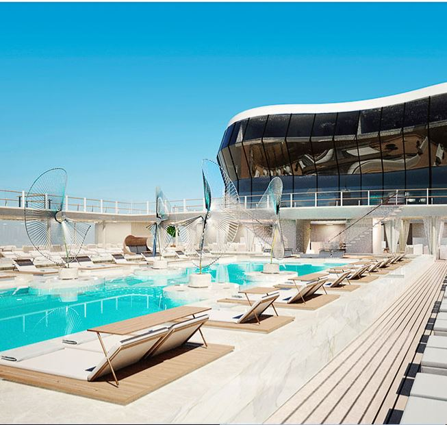 MSC Bellissima Atmosphere Pool