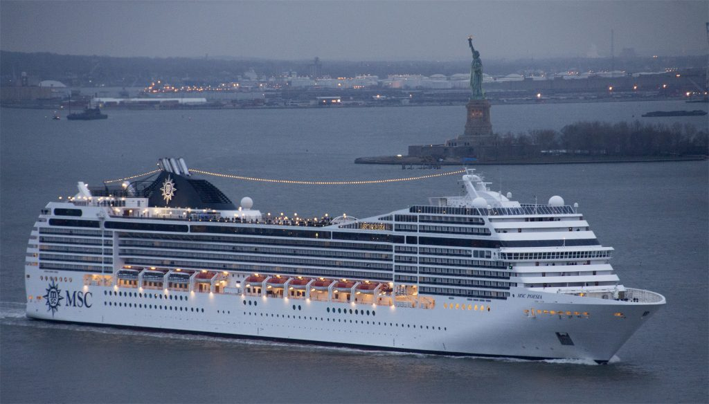 MSC Poesia in New York