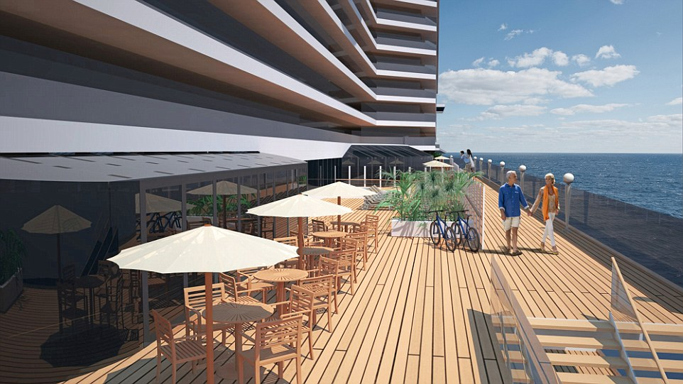 MSC Seaside Waterfront