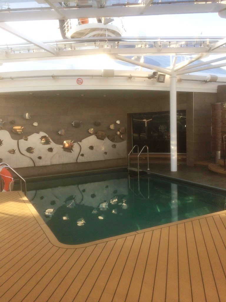 MSC Yacht Club poolbereich