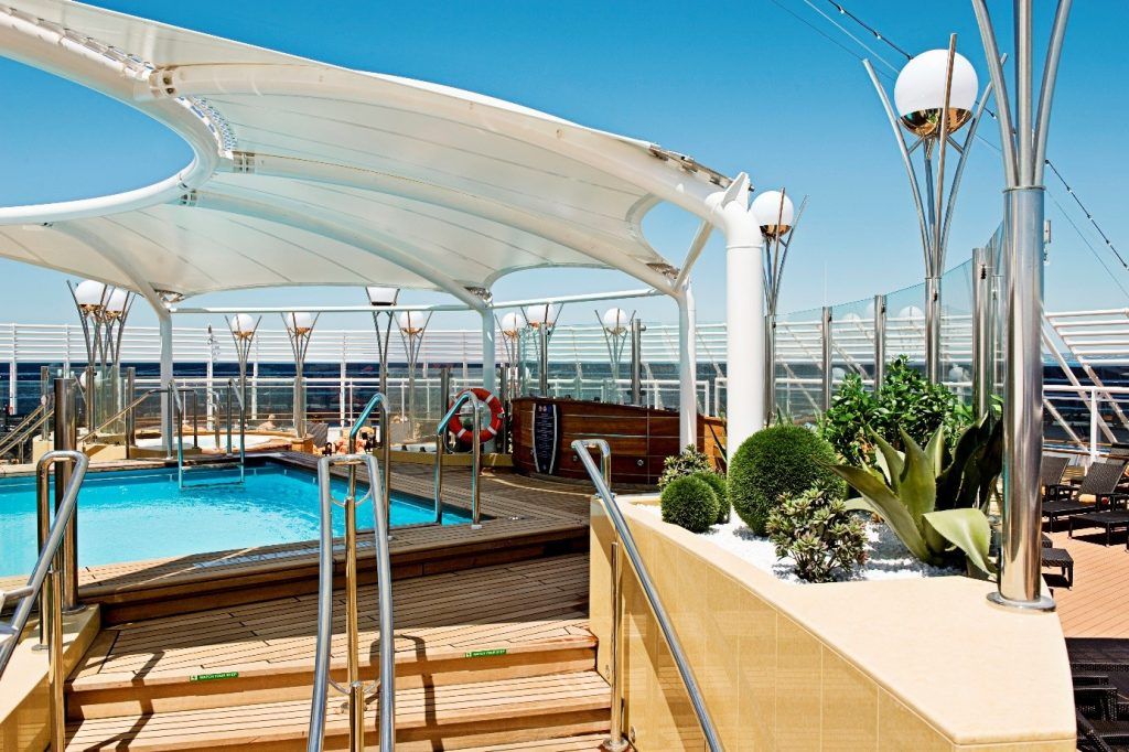 MSC splendida Poolbereich
