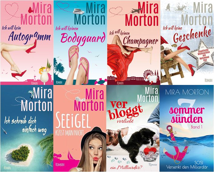 Mira Morton alle 8 Cover Bücher