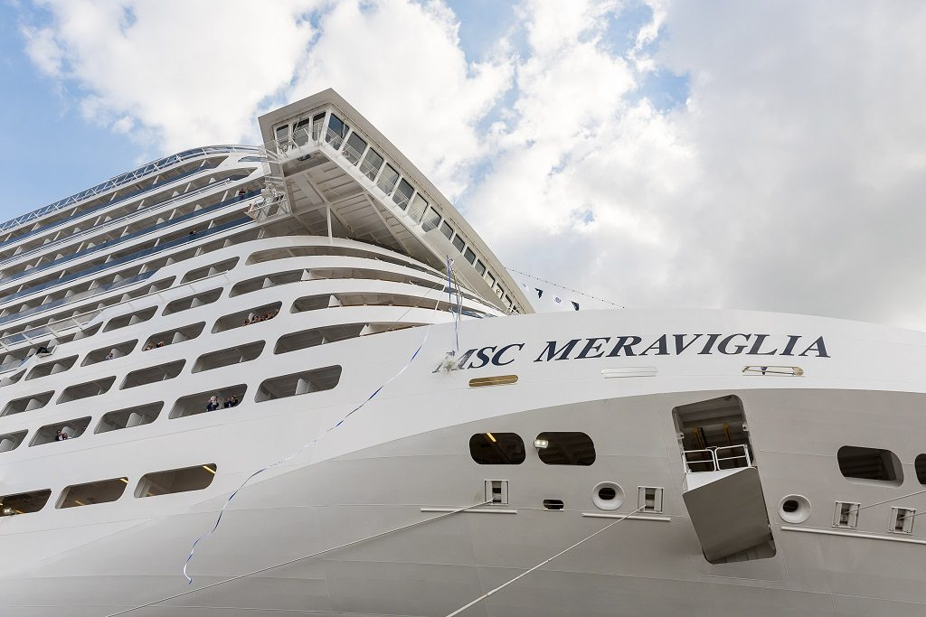 MSC Crociere S.A. 31 May 2017 MSC Meraviglia Flag Ceremony in St. Nazaire - Official delivery of MSC Meraviglia to MSC Cruises