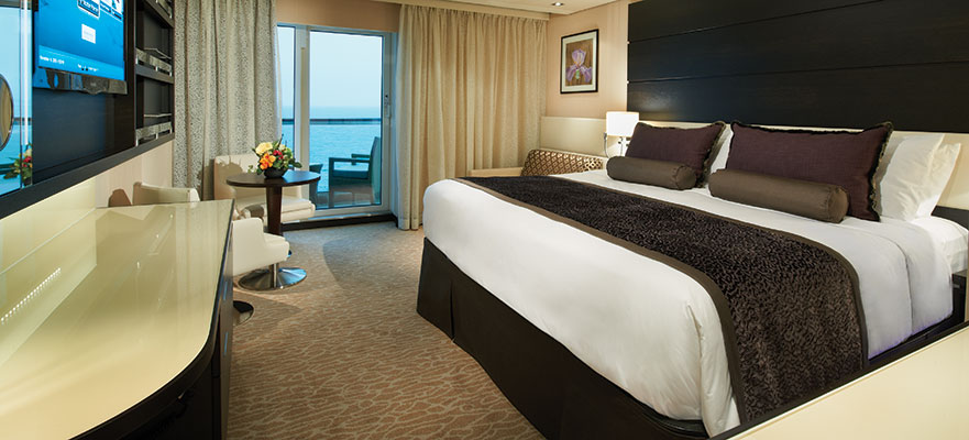 Norwegian Cruise Line The Haven Familie Suite
