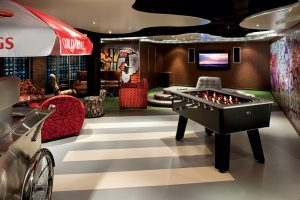 Holland America Line Club Hal - The Loft - Nieuw Amsterdam -