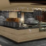 Holland America Line Nieuw Statendam Explorations Cafe powered by The New York Times in Explorations Central