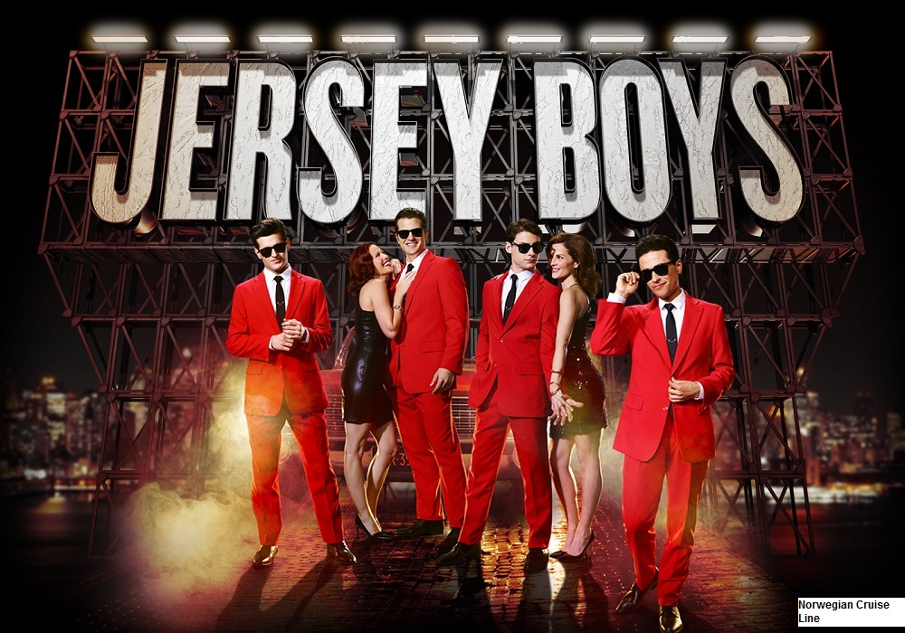 Norwegian Cruise Line Norwegian Bliss Entertainment Jersey Boys