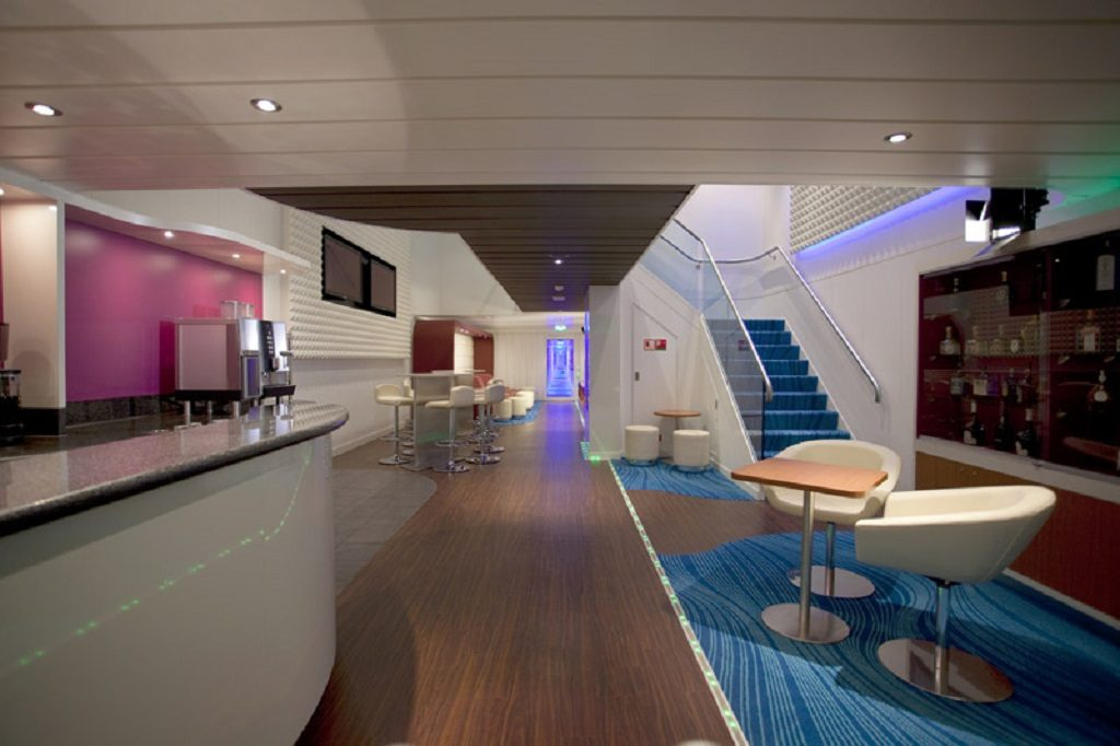 Norwegian Cruise Line Solo Travelling Studio Lounge