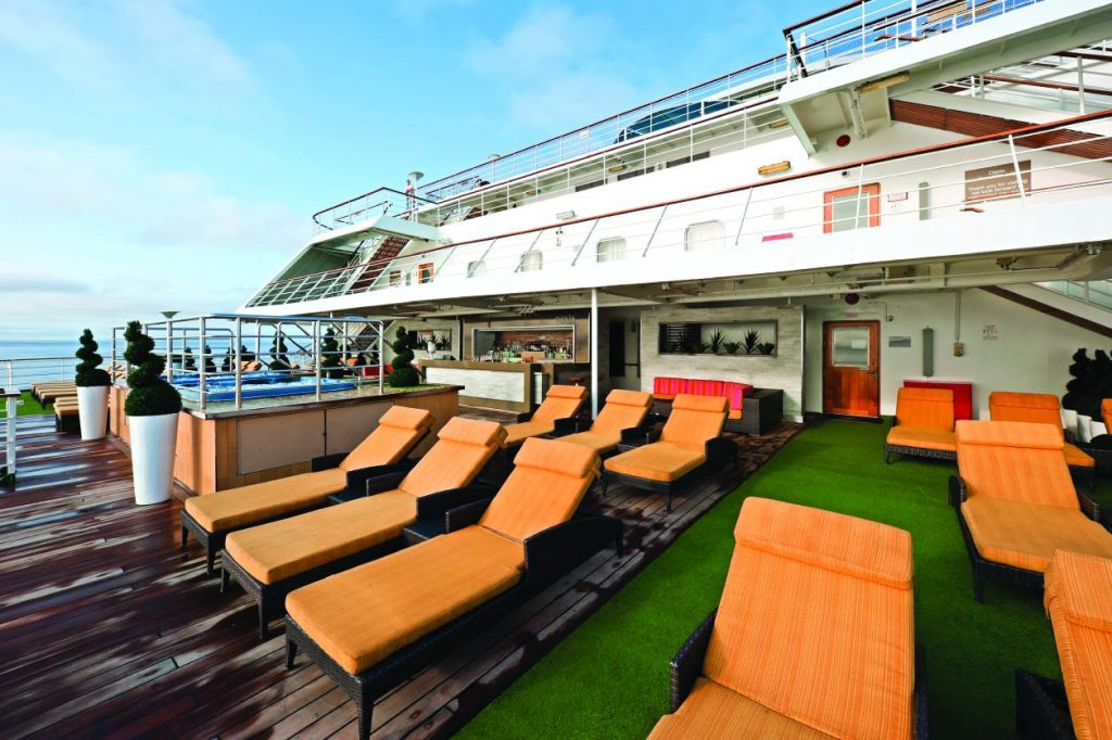 Cruise & Maritime Voyages MS Columbus The Oasis Sonnendeck