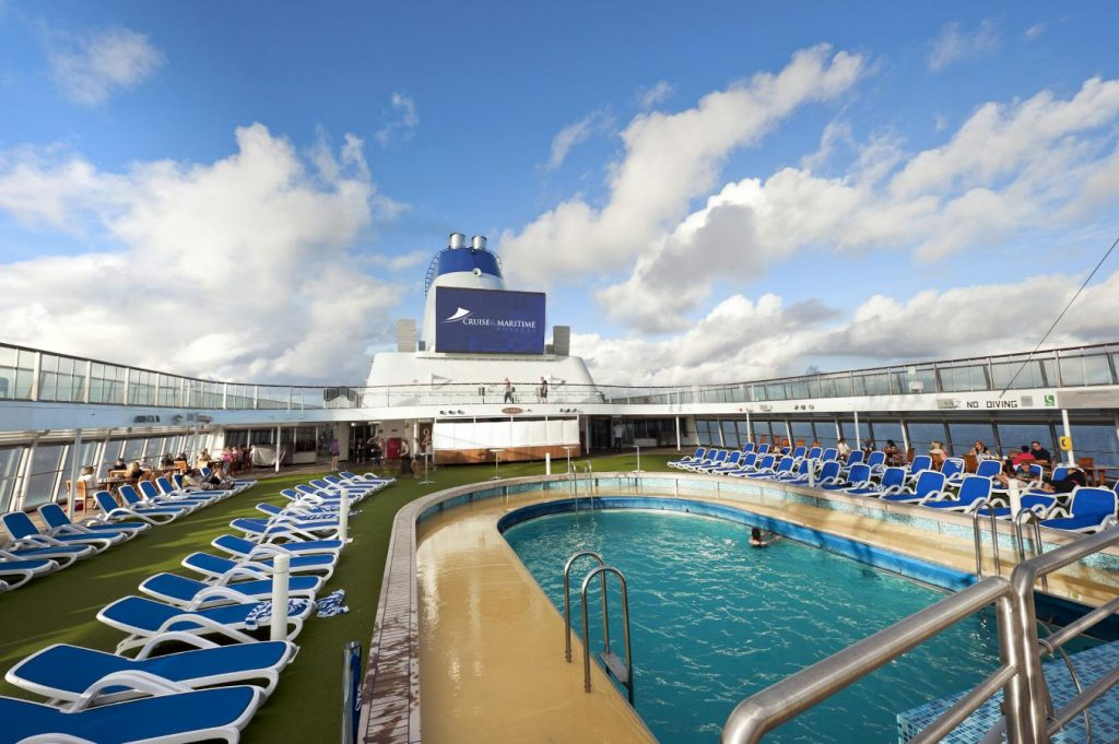 Cruise & Maritime Voyages MS Columbus Pool - Lido Deck 12