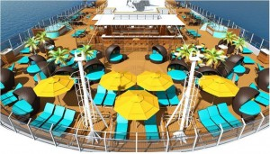 Carnival Cruise Line Carnival Horizon Poolbereich Erwachsene