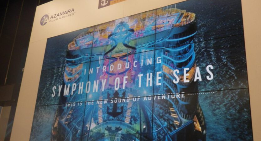 Royal Caribbean neuestes Schiff die Symphony of the Seas